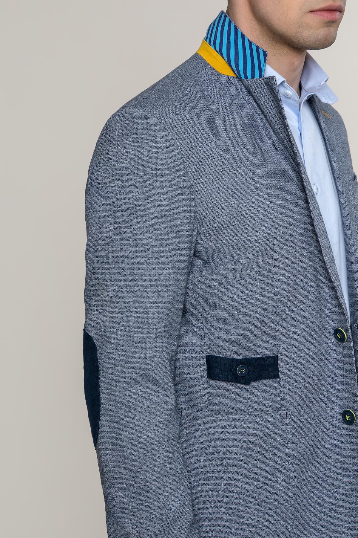 Пиджак серого цвета Vaismann 1927-6