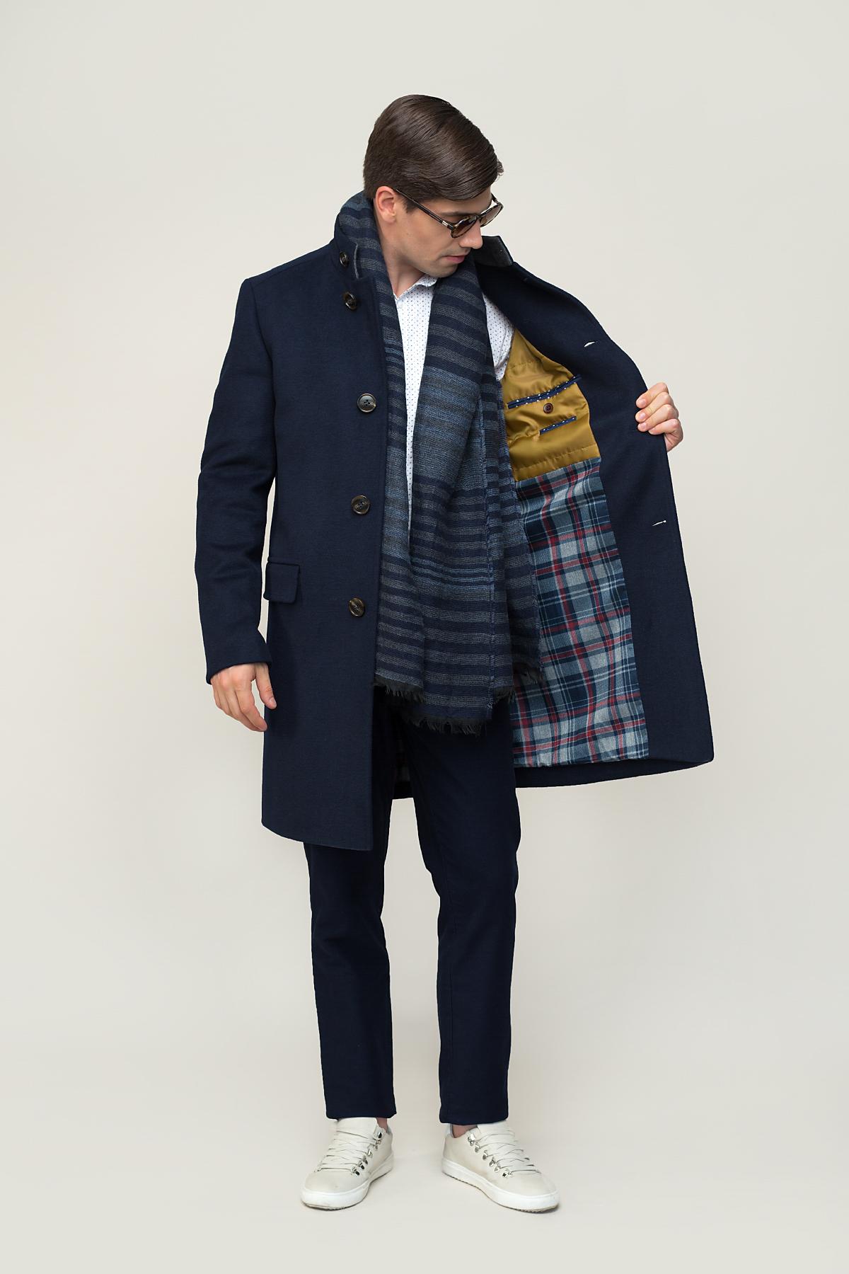 Пальто синего цвета  Vaismann  1922