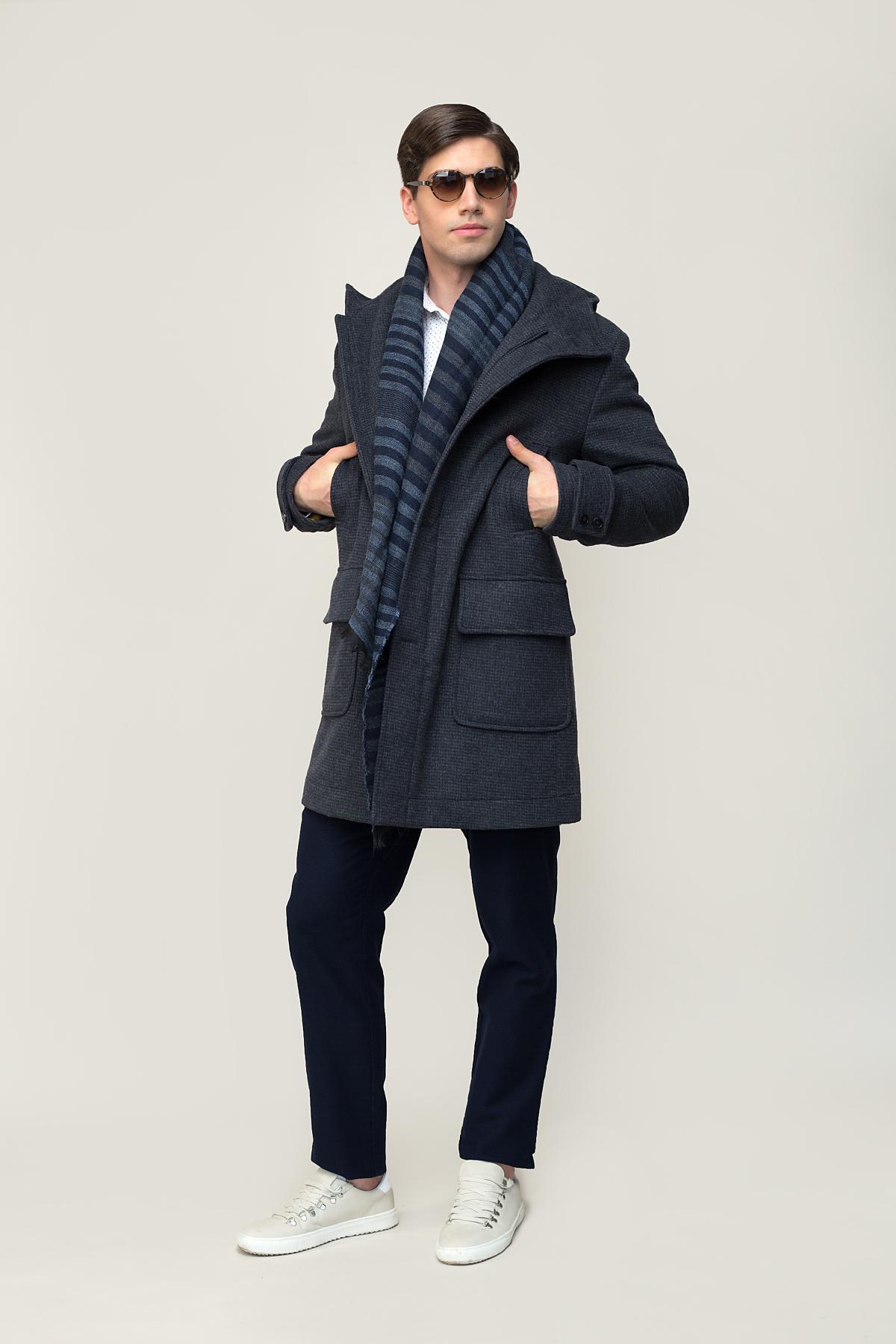 Пальто серого цвета  Vaismann  1924