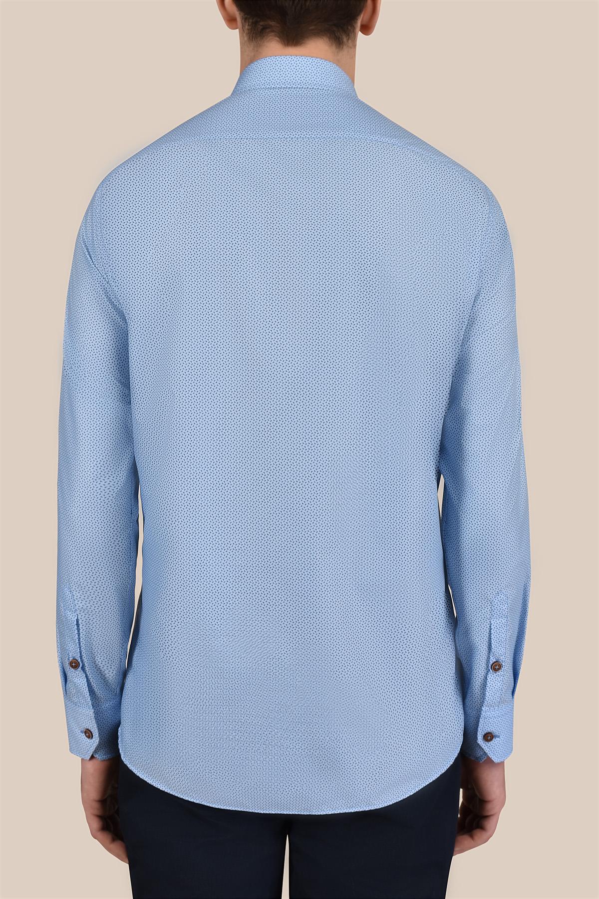 Рубашка в мелкий принт Vaismann 20166