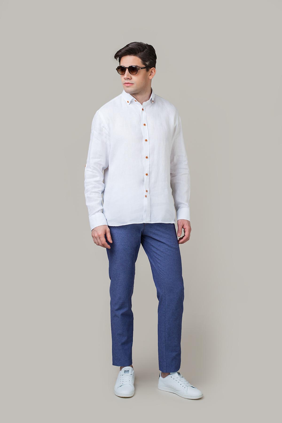 Рубашка белого цвета Vaismann 20126