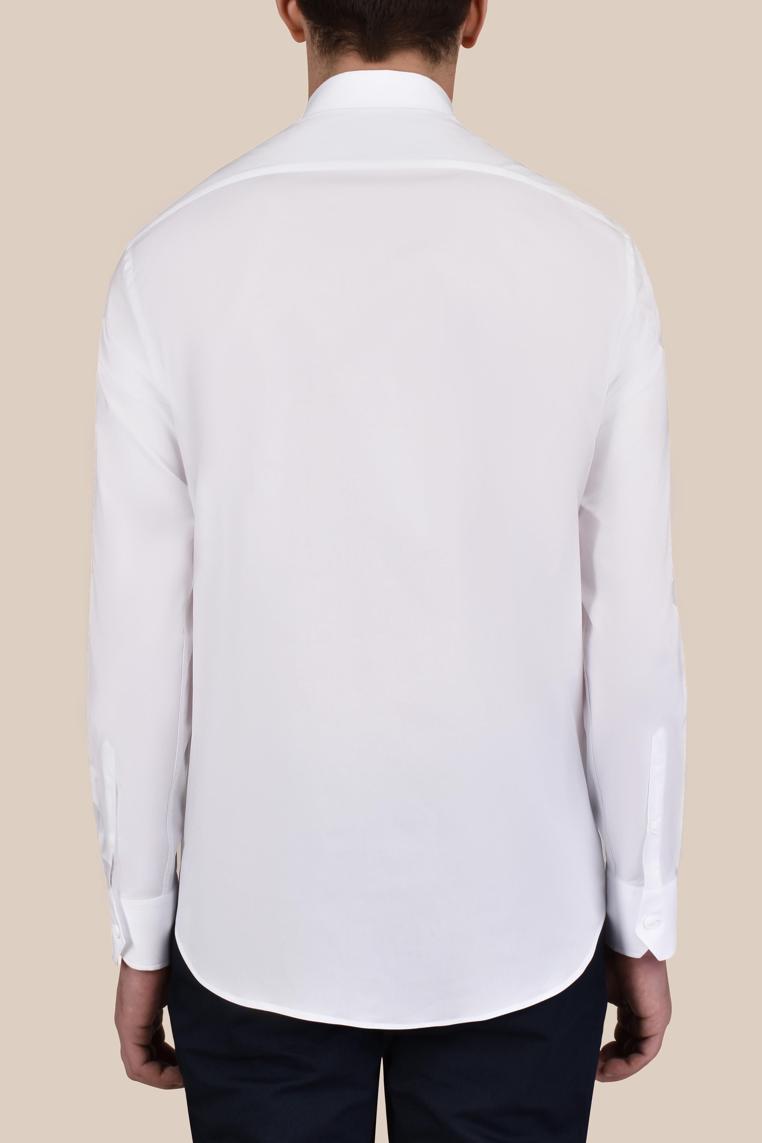 Рубашка белого  цвета Vaismann 20101