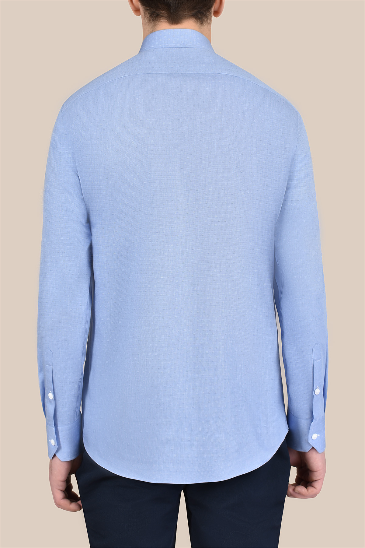 Рубашка голубого цвета Vaismann 20109