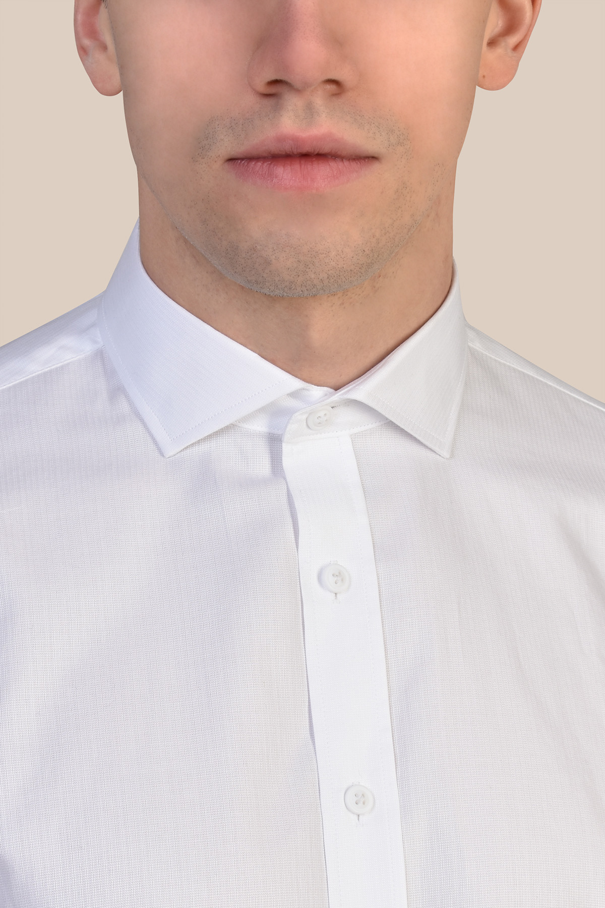 Рубашка белого цвета  Vaismann 20115