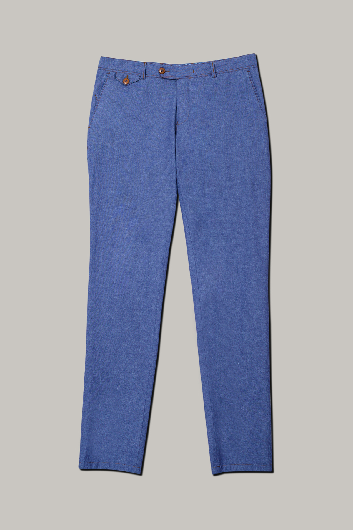 Брюки «chinos» из ткани «джинс» Vaismann  20307