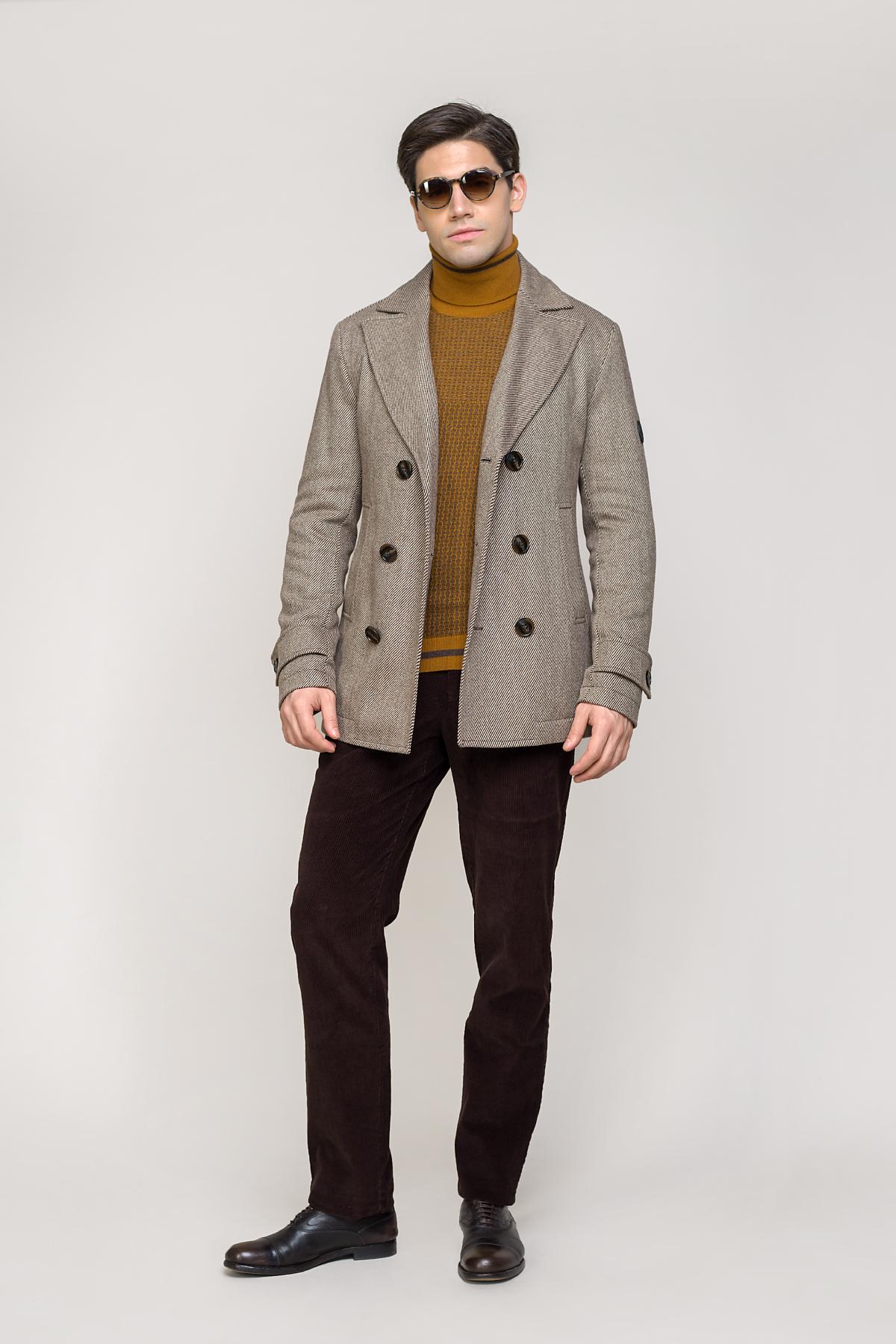 Пальто бежевого цвета  Vaismann  2033