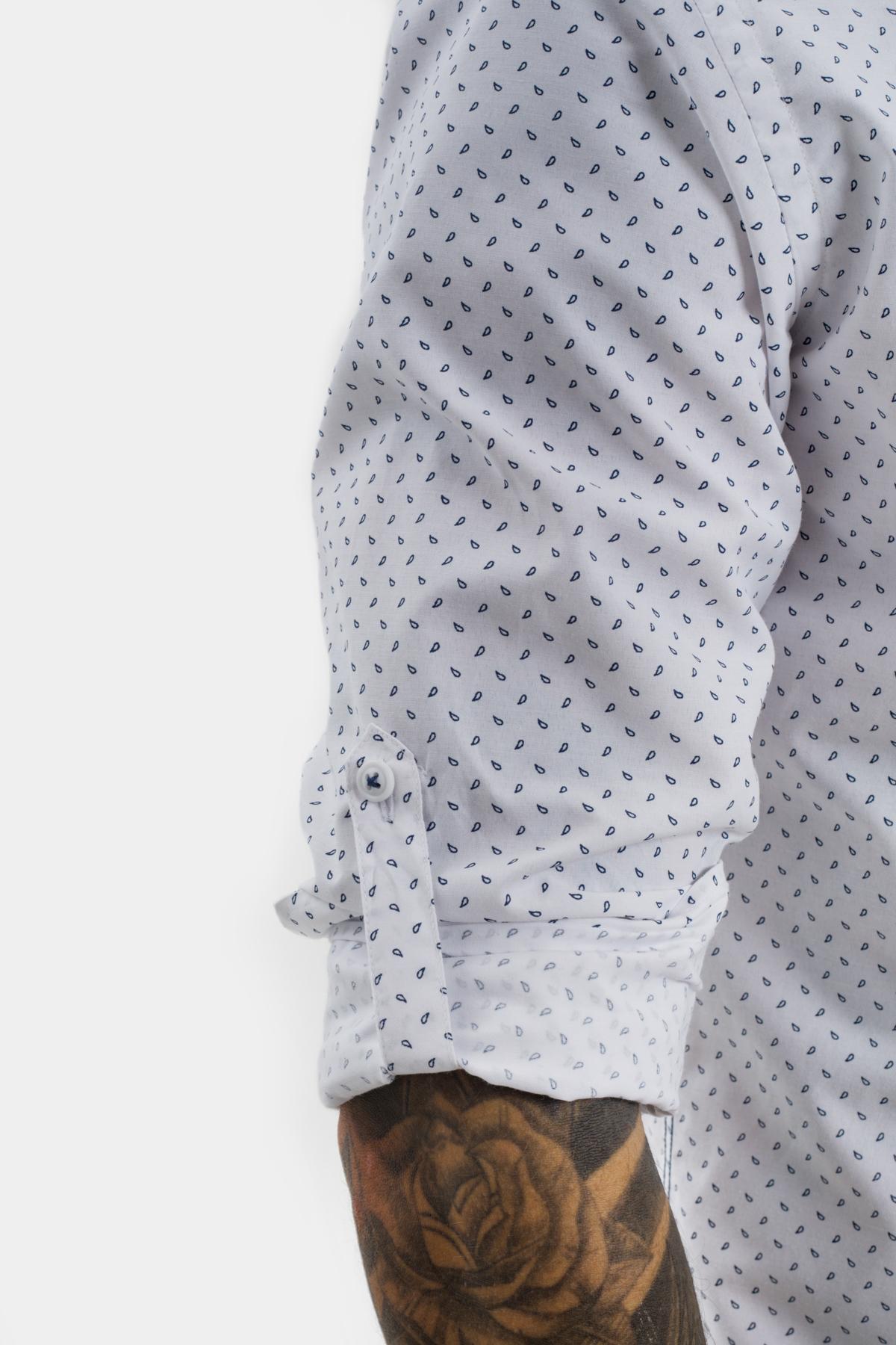 Рубашка в мелкий рисунок Vaismann 21124