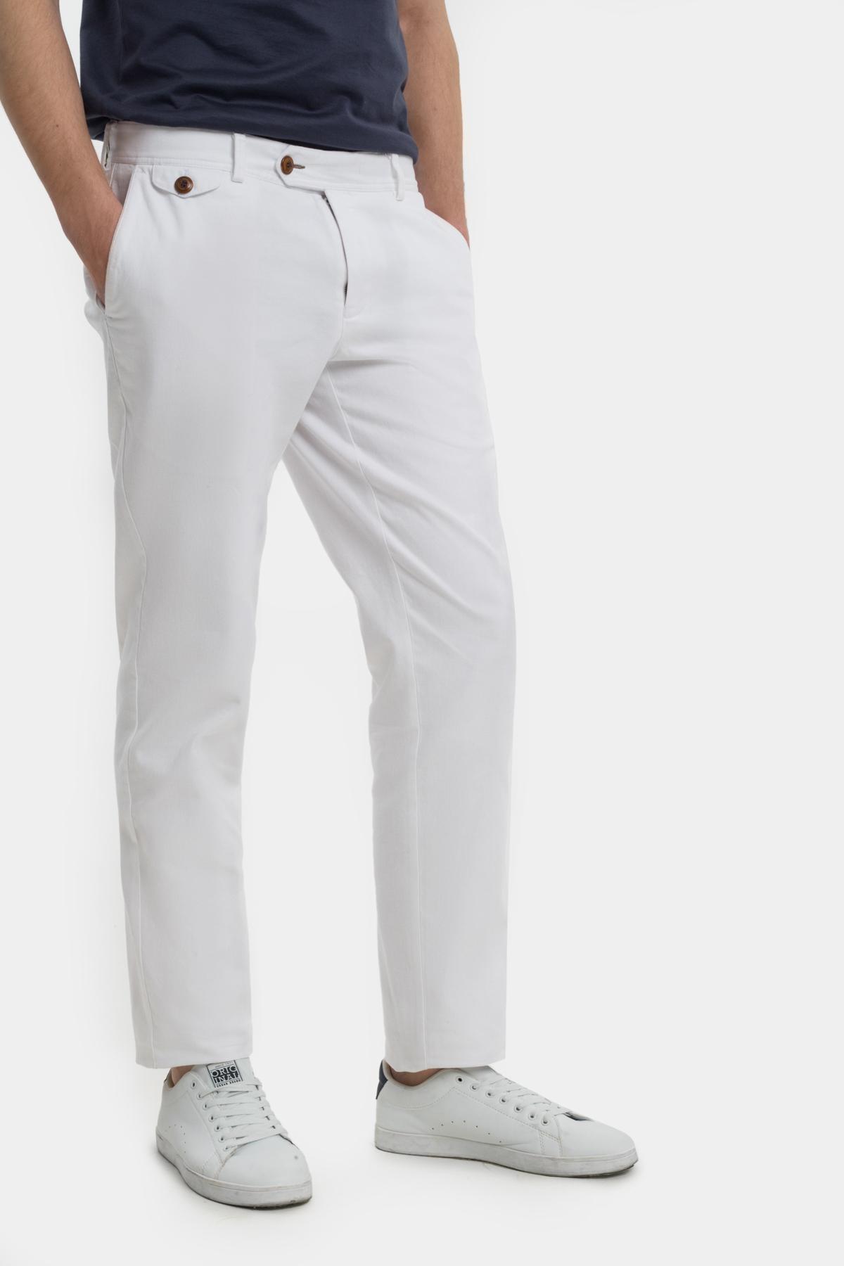 Зауженные брюки «chinos»,  из  хлопка.  Vaismann  21505