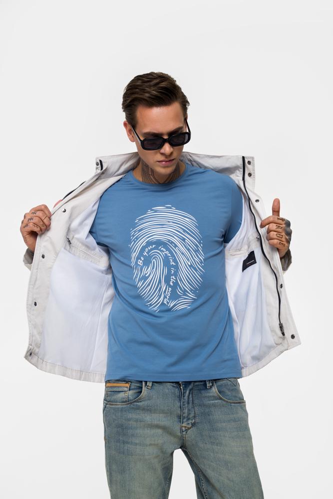Легкая куртка из непромокаемой ткани Vaismann 21-201-5