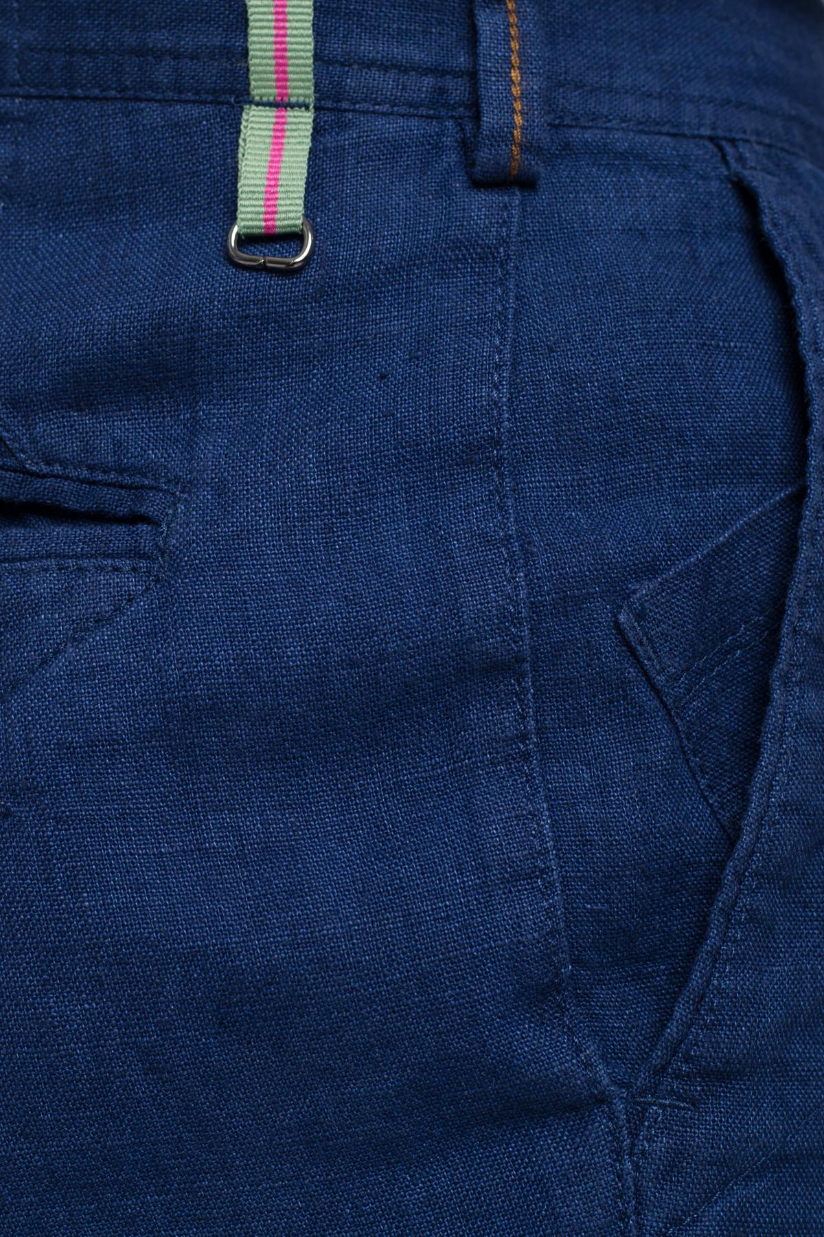 Зауженные брюки из самой комфортной ткани лен  Vaismann  21516
