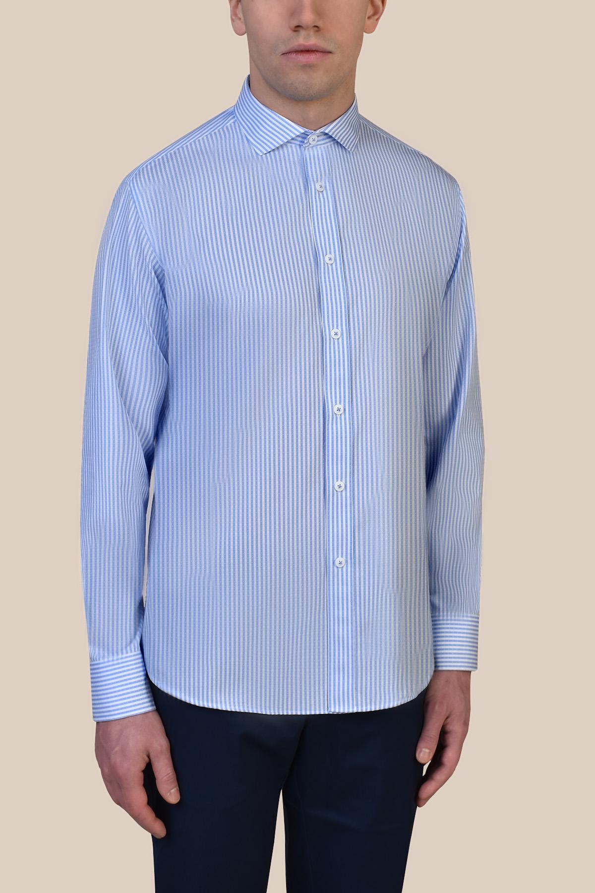 Рубашка в полоску  Vaismann 19244