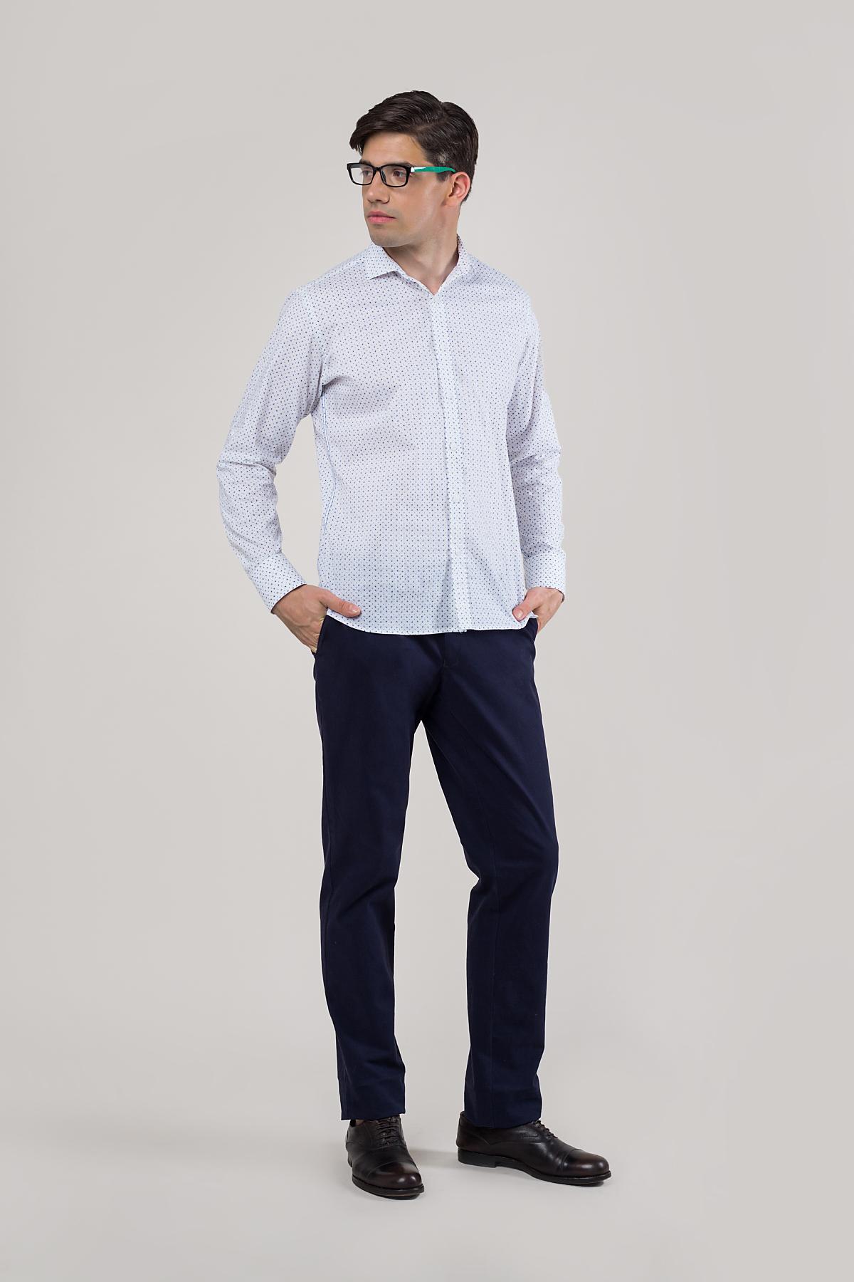 Рубашка в мелкий принт Vaismann 20112