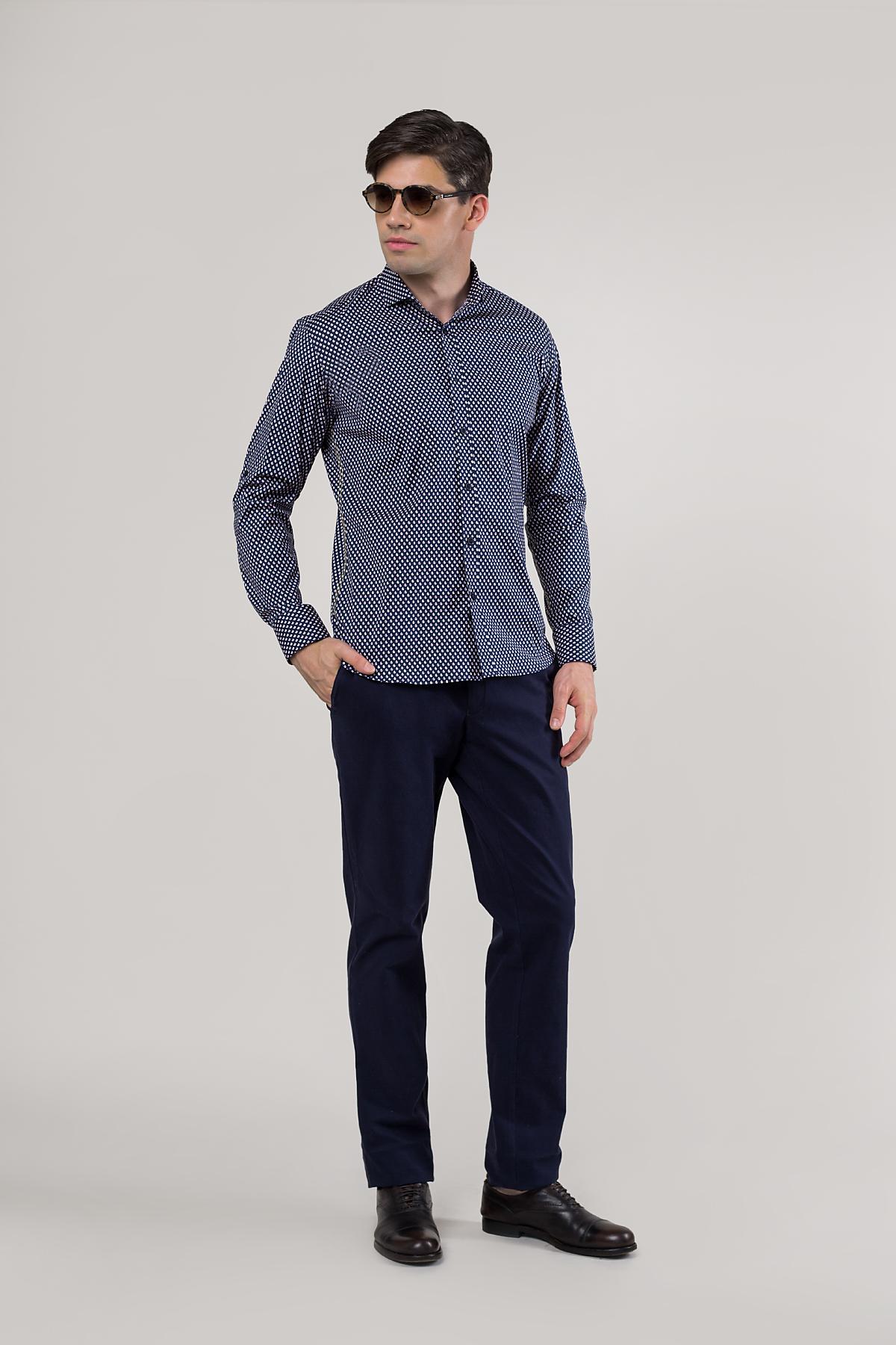 Рубашка в мелкий принт  Vaismann 20119