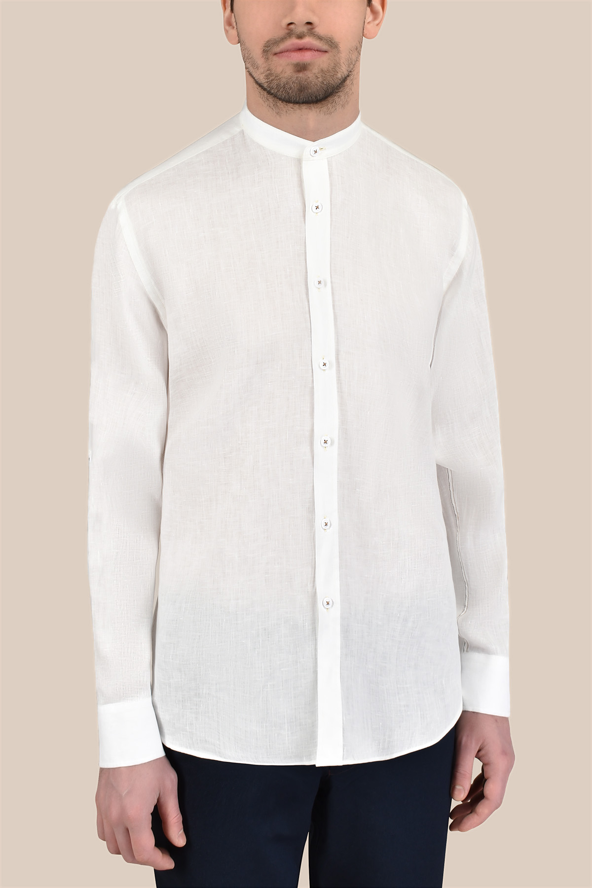 Рубашка  белого цвета Vaismann 20121