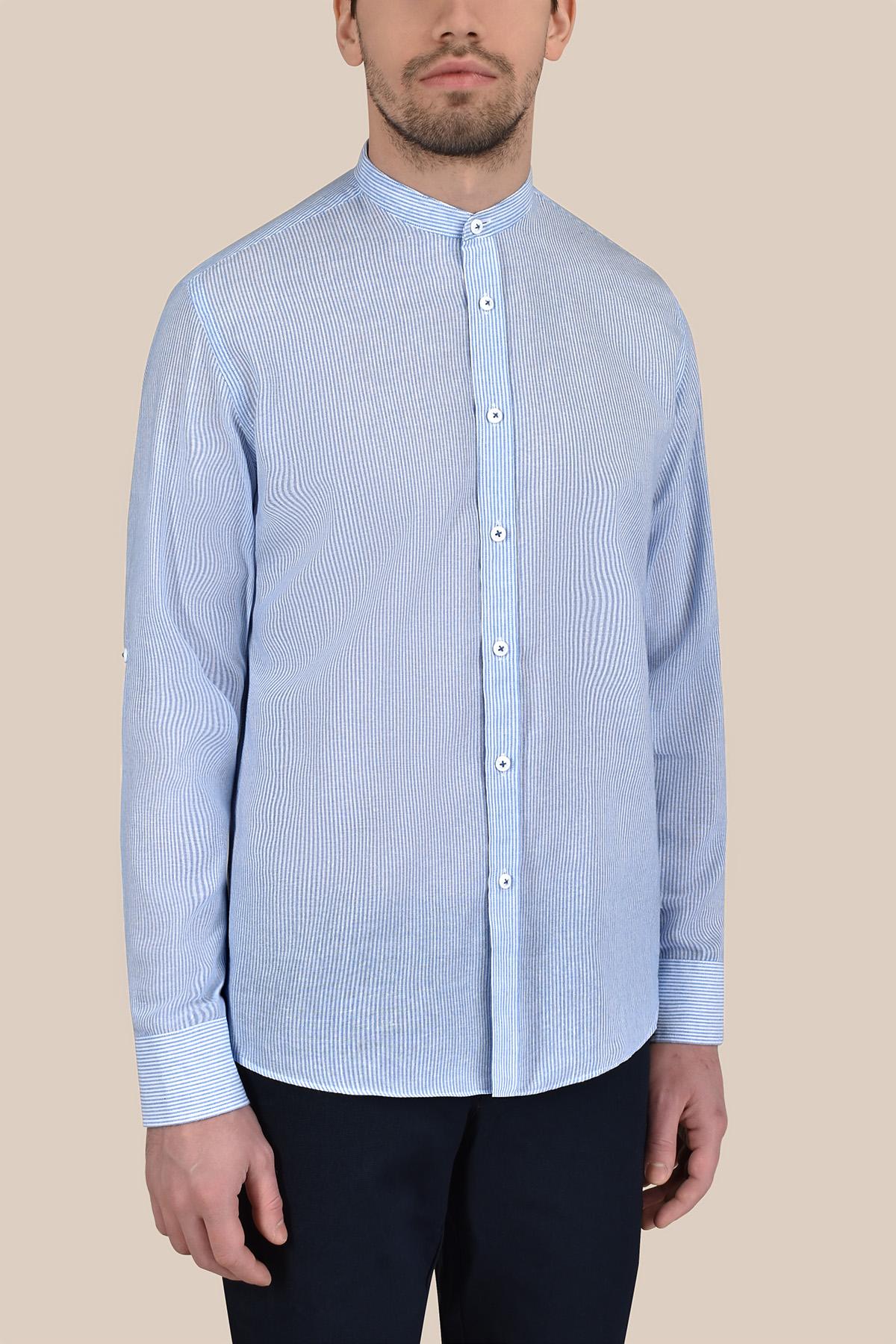 Рубашка  мелкую полоску  Vaismann 20122
