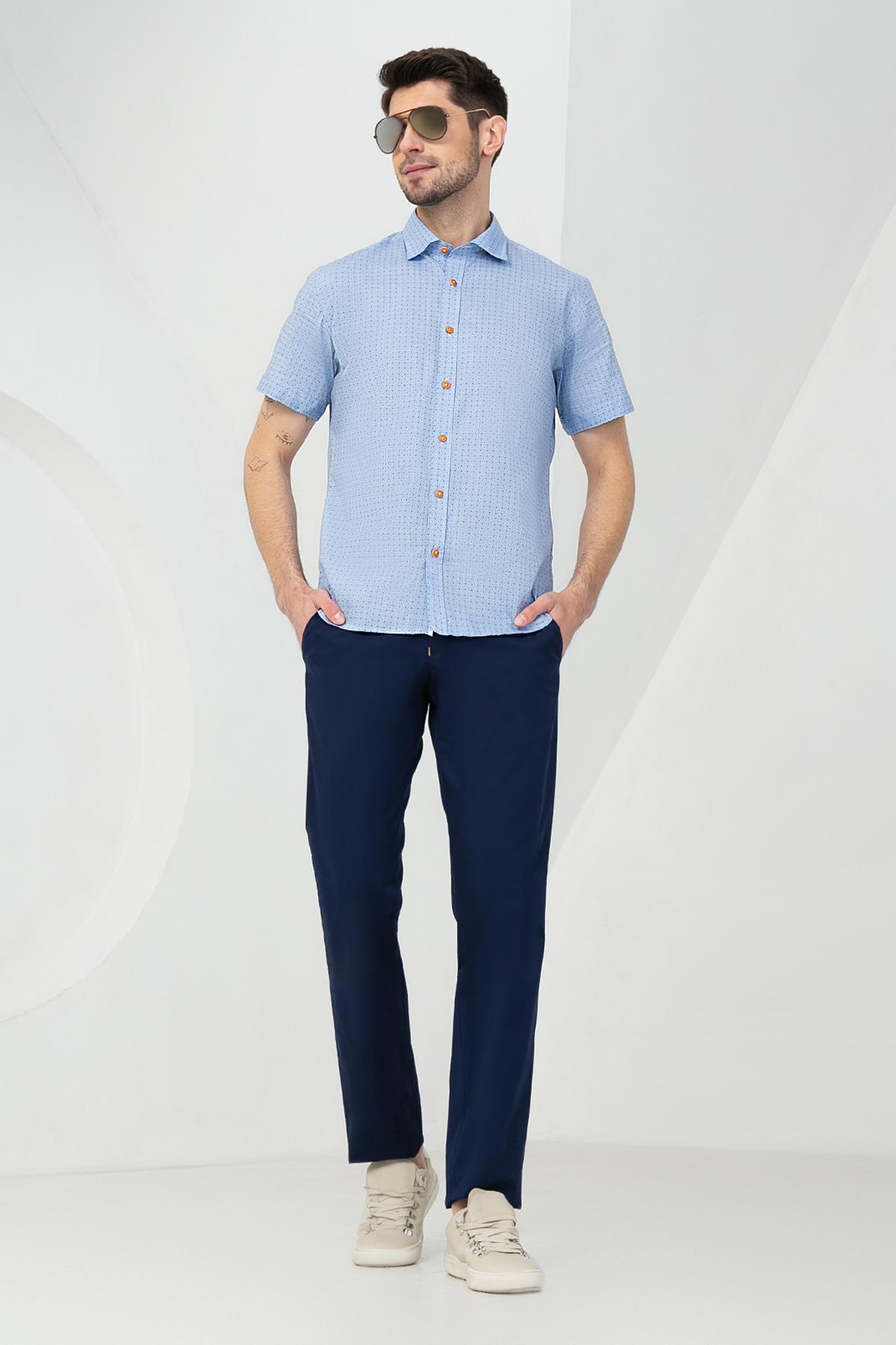 Рубашка в мелкий принт  Vaismann 20136