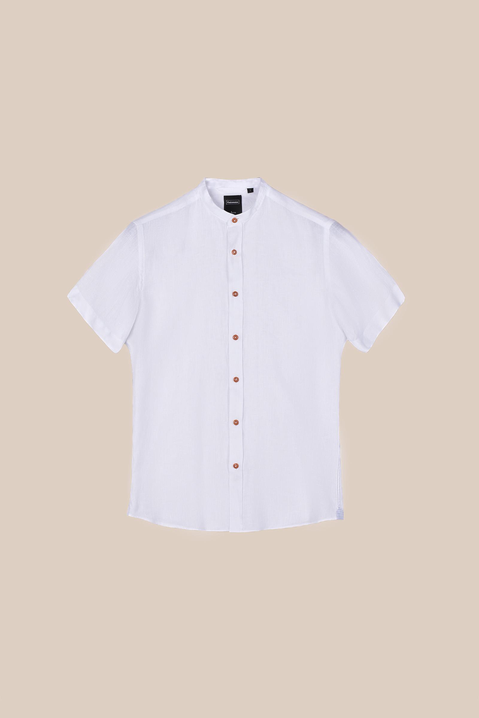 Рубашка  белого цвета Vaismann 20141