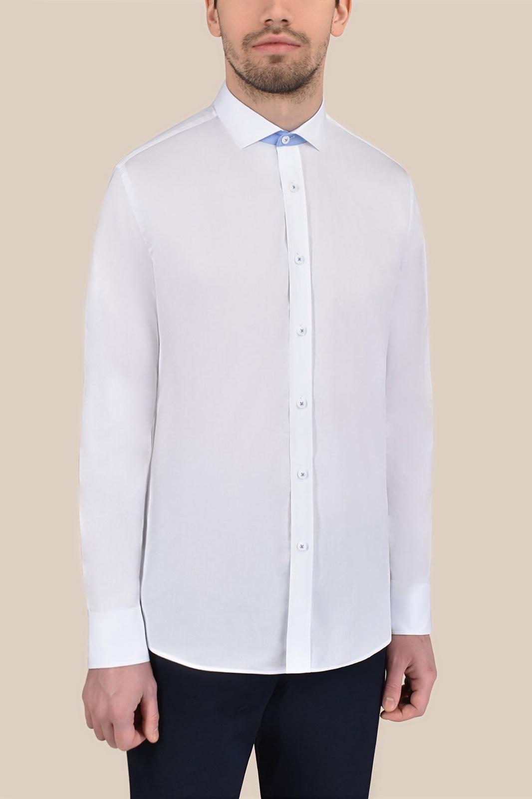 Рубашка белого цвета Vaismann 20170