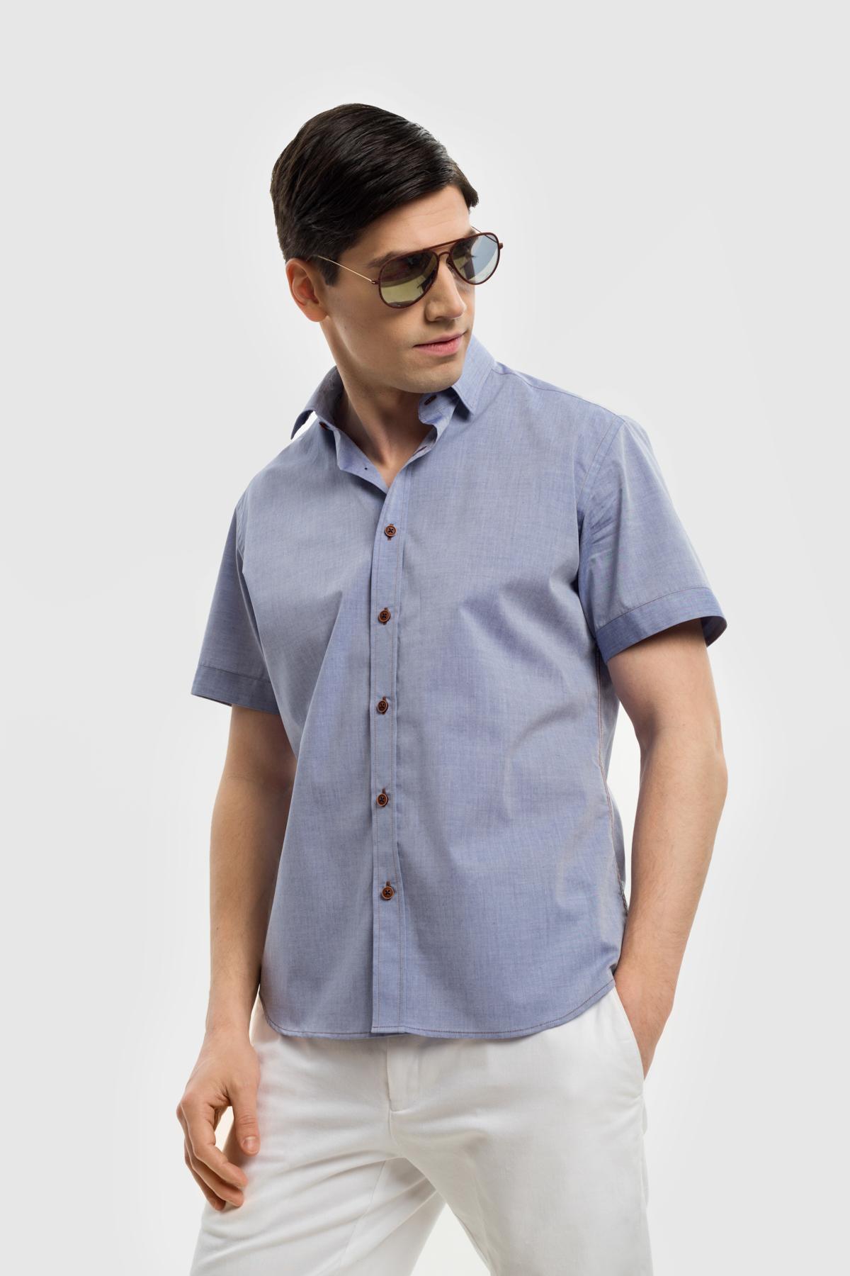 Рубашка из хлопковой ткани  Vaismann 21137