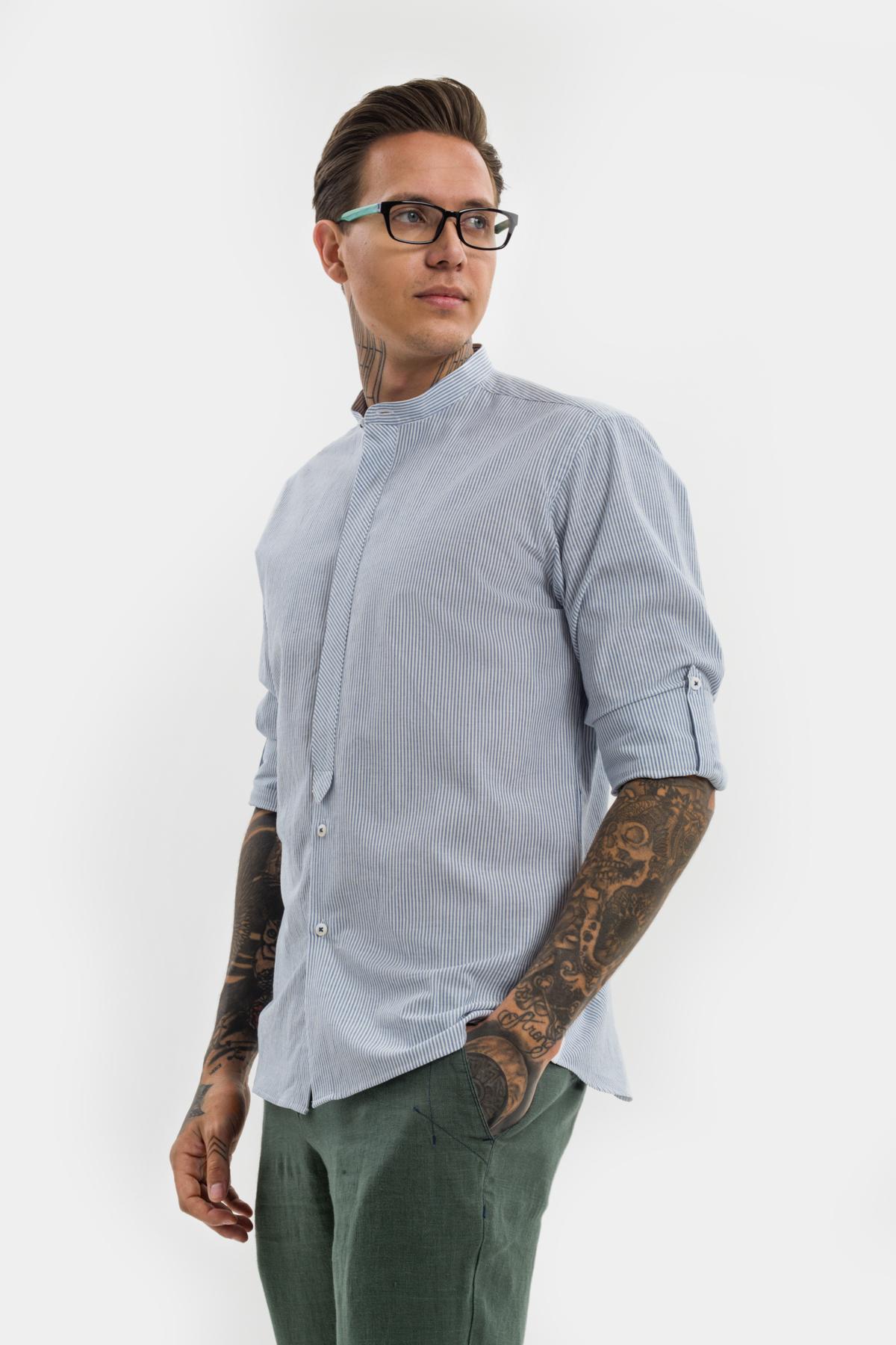 Рубашка в полоску  Vaismann 21151