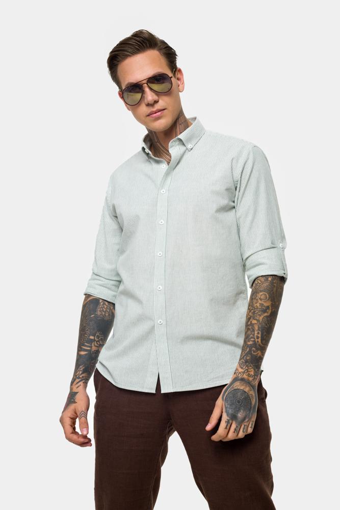Рубашка из хлопковой ткани  Vaismann  21153