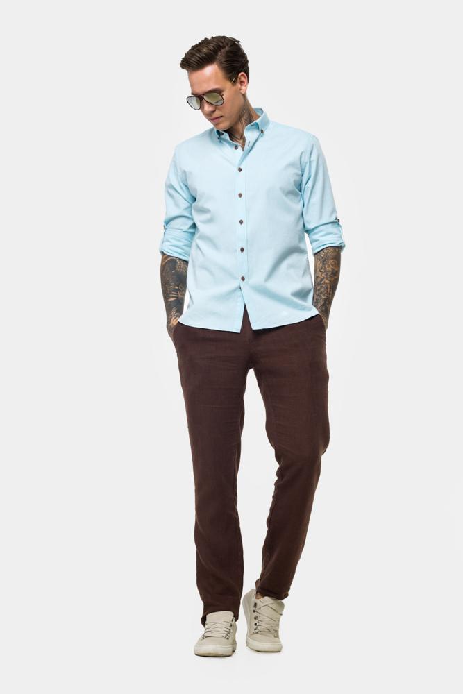 Рубашка из хлопковой ткани  Vaismann  21154