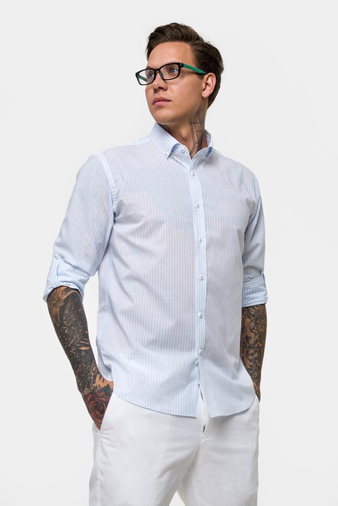 Рубашка в полоску  Vaismann  21155