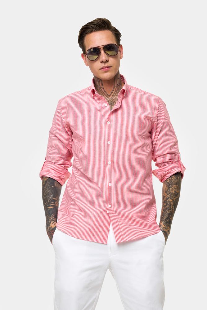 Рубашка в полоску  Vaismann  21157