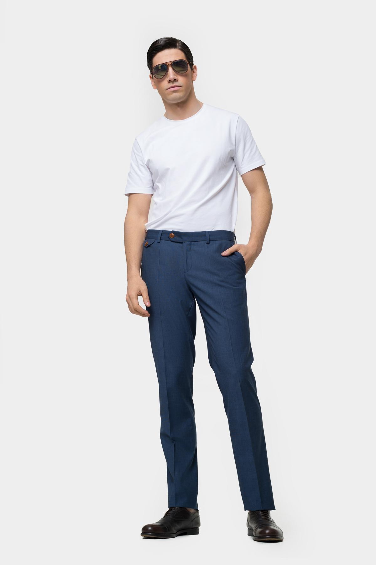 Зауженные брюки классического кроя  Vaismann  21402
