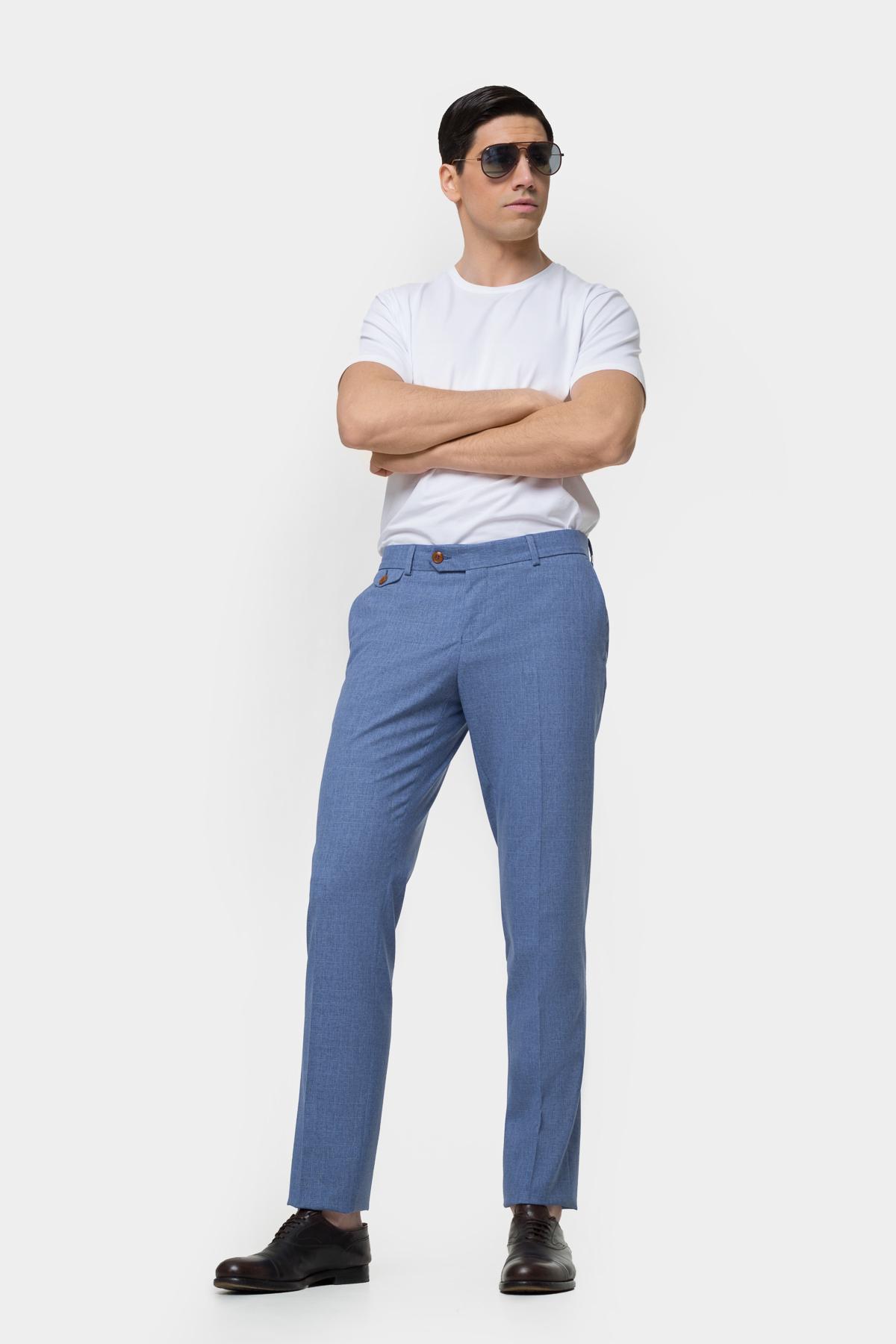 Зауженные брюки классического кроя  Vaismann  21403