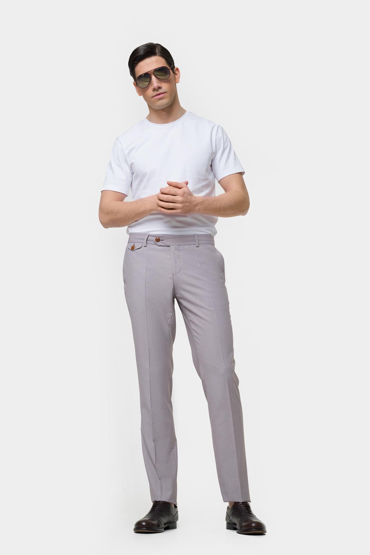 Зауженные брюки классического кроя  Vaismann  21404