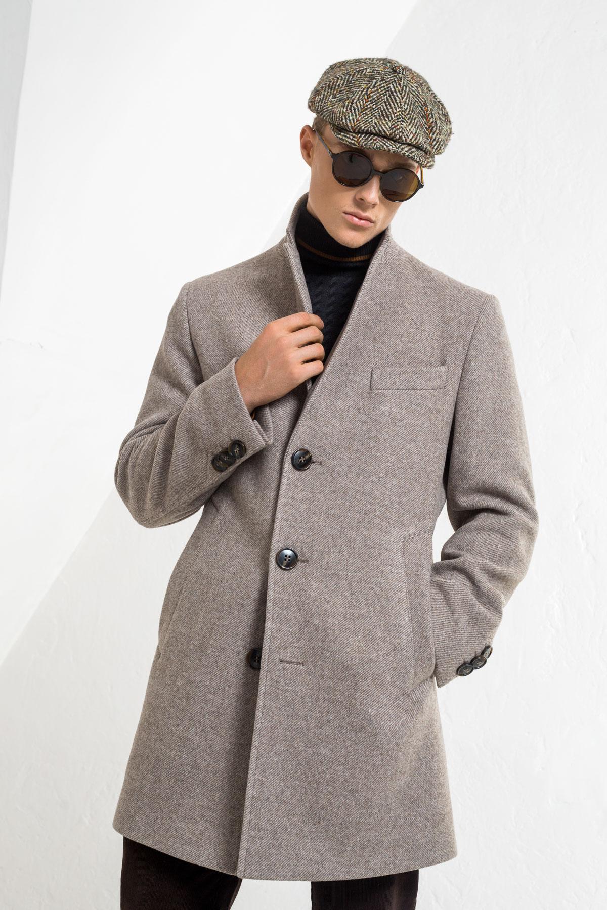 Шерстяное пальто Vaismann 2141