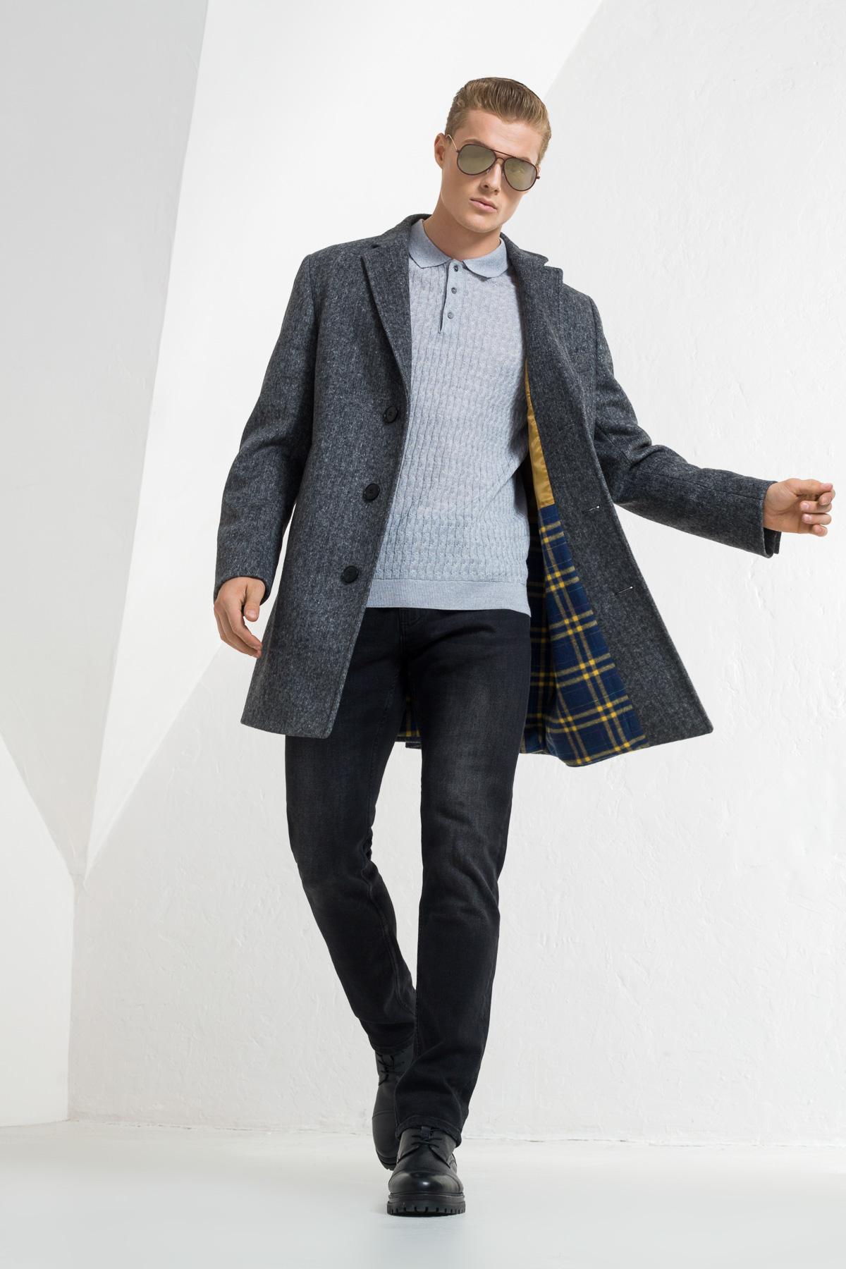 Шерстяное пальто Vaismann 2142