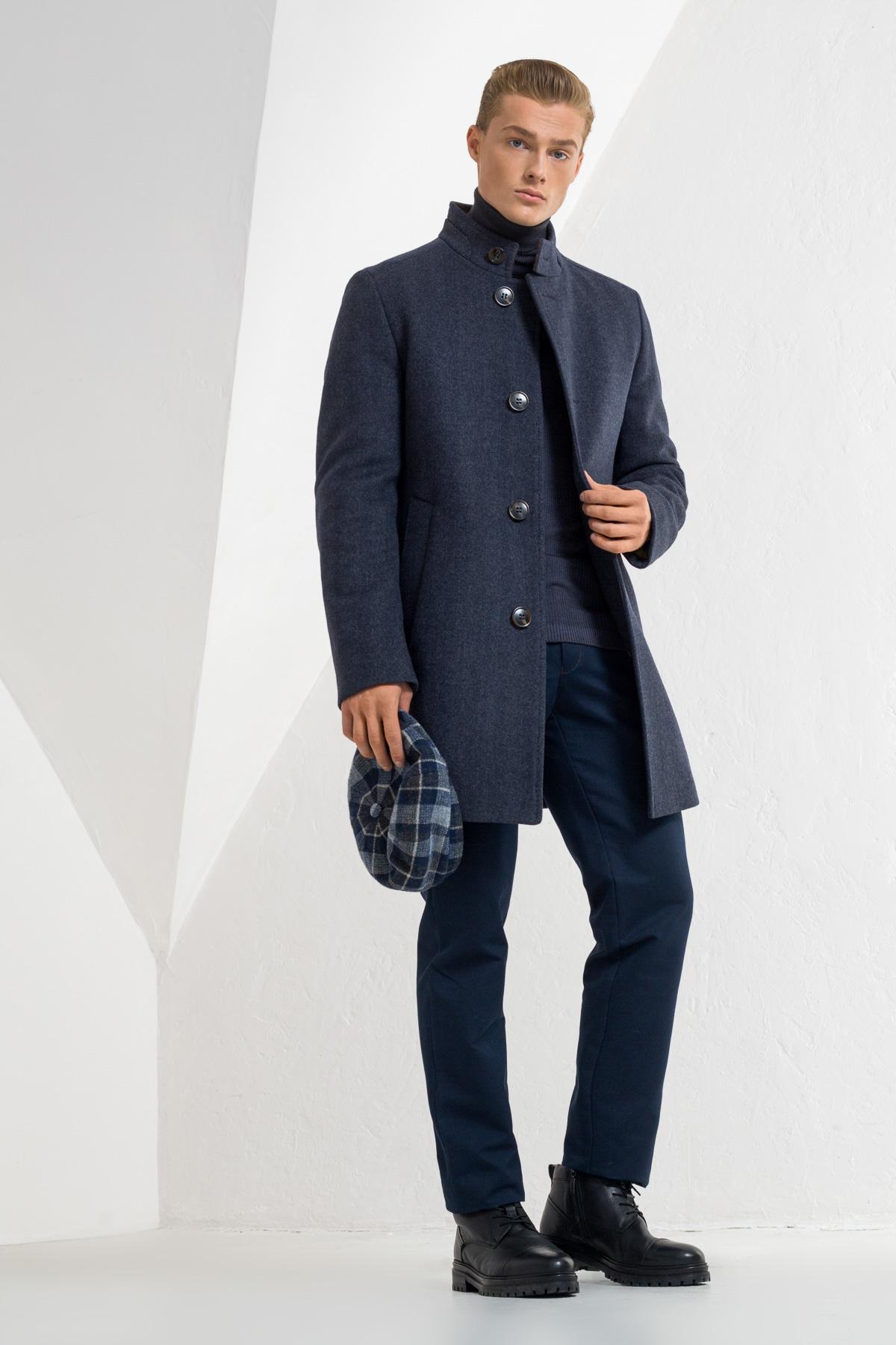 Шерстяное пальто Vaismann 2144