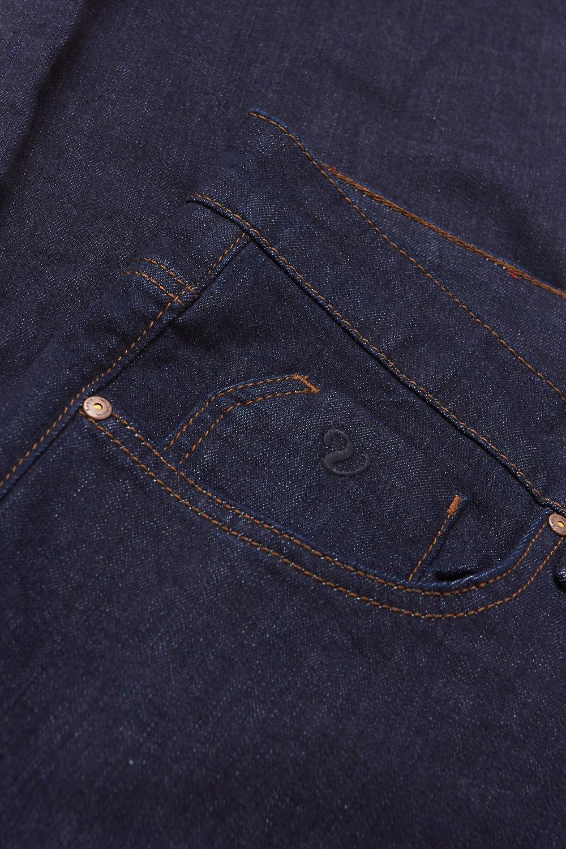 Джинсы темно-синего цвета 1808978