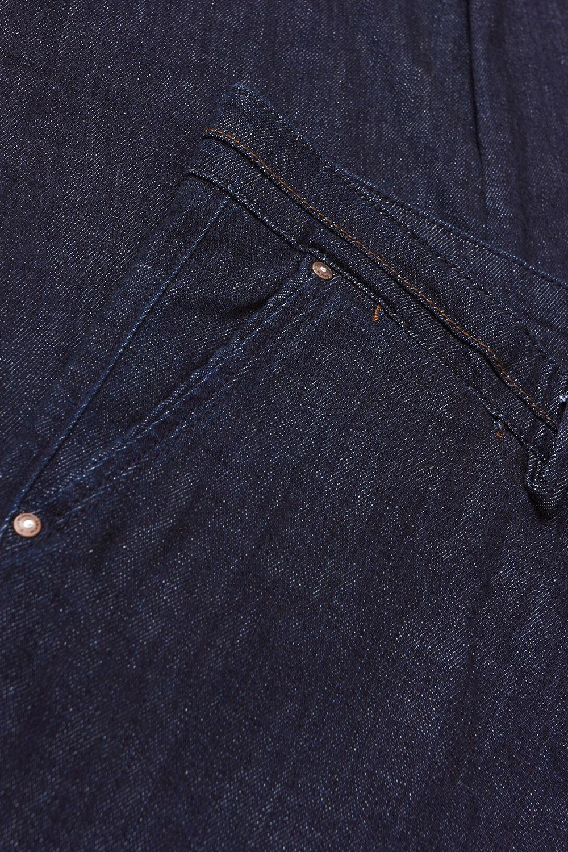Джинсы темно-синего цвета 1808931