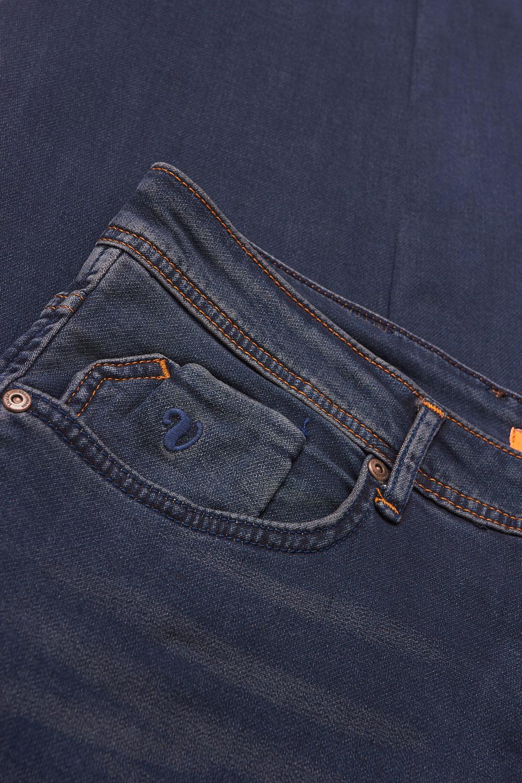 Джинсы темно-синего цвета 18091825