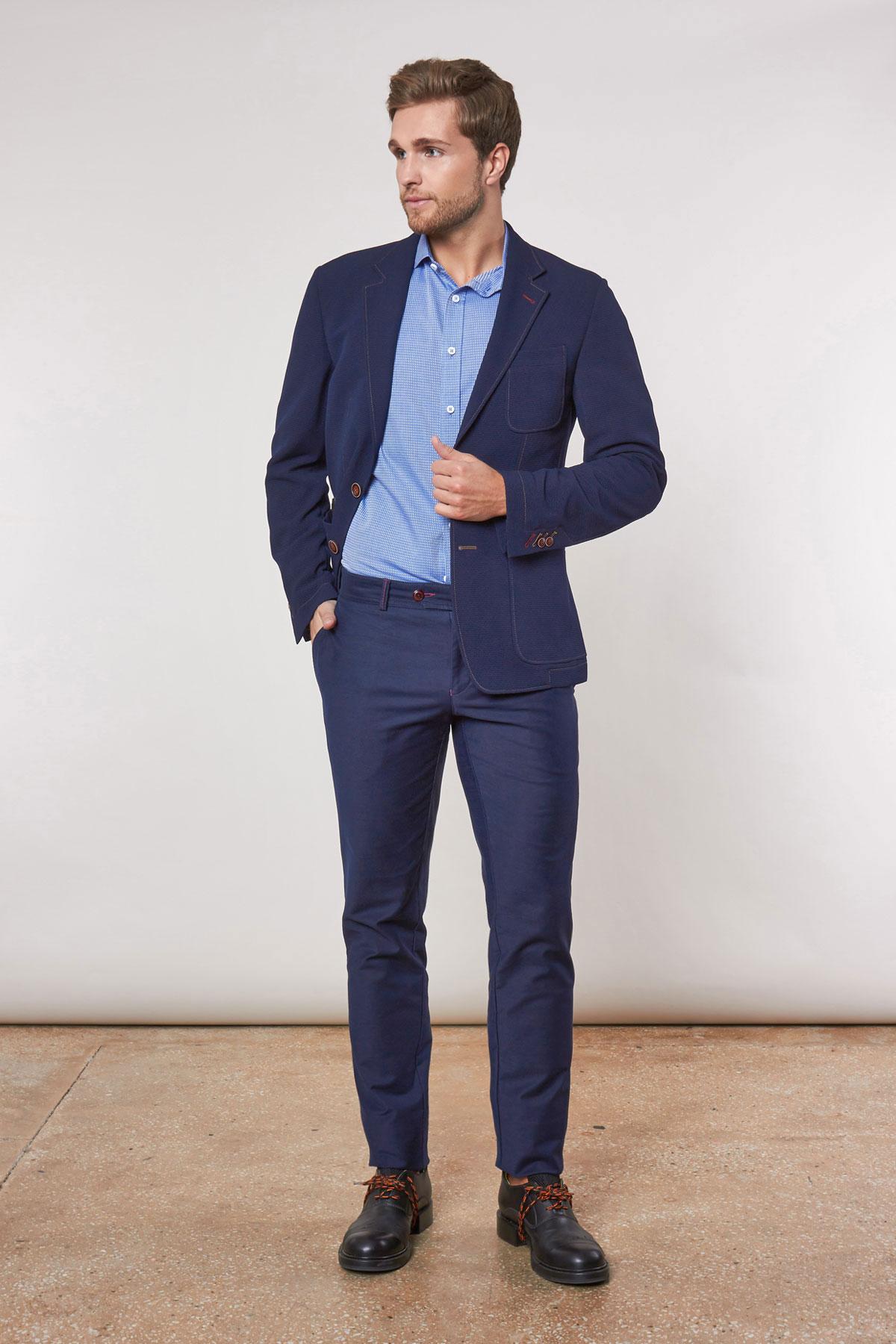 Пиджак синего цвета 1844-19 York