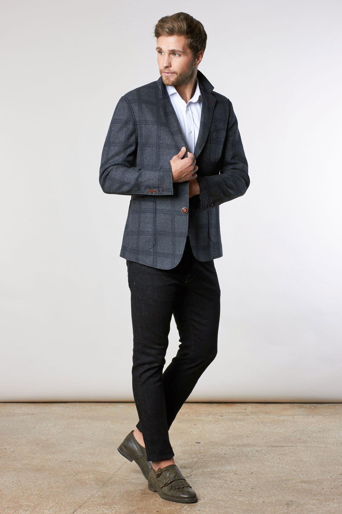 Пиджак серого цвета 1841-6 York