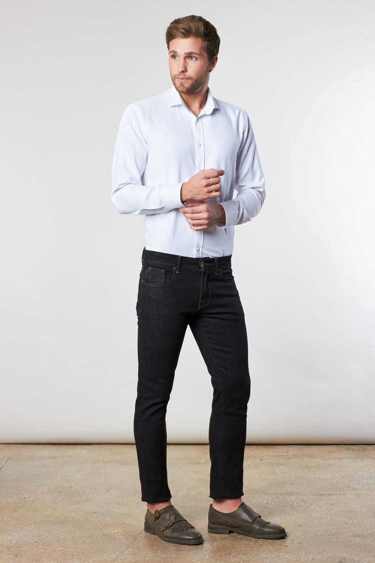 Рубашка белого цвета Vaismann 18210