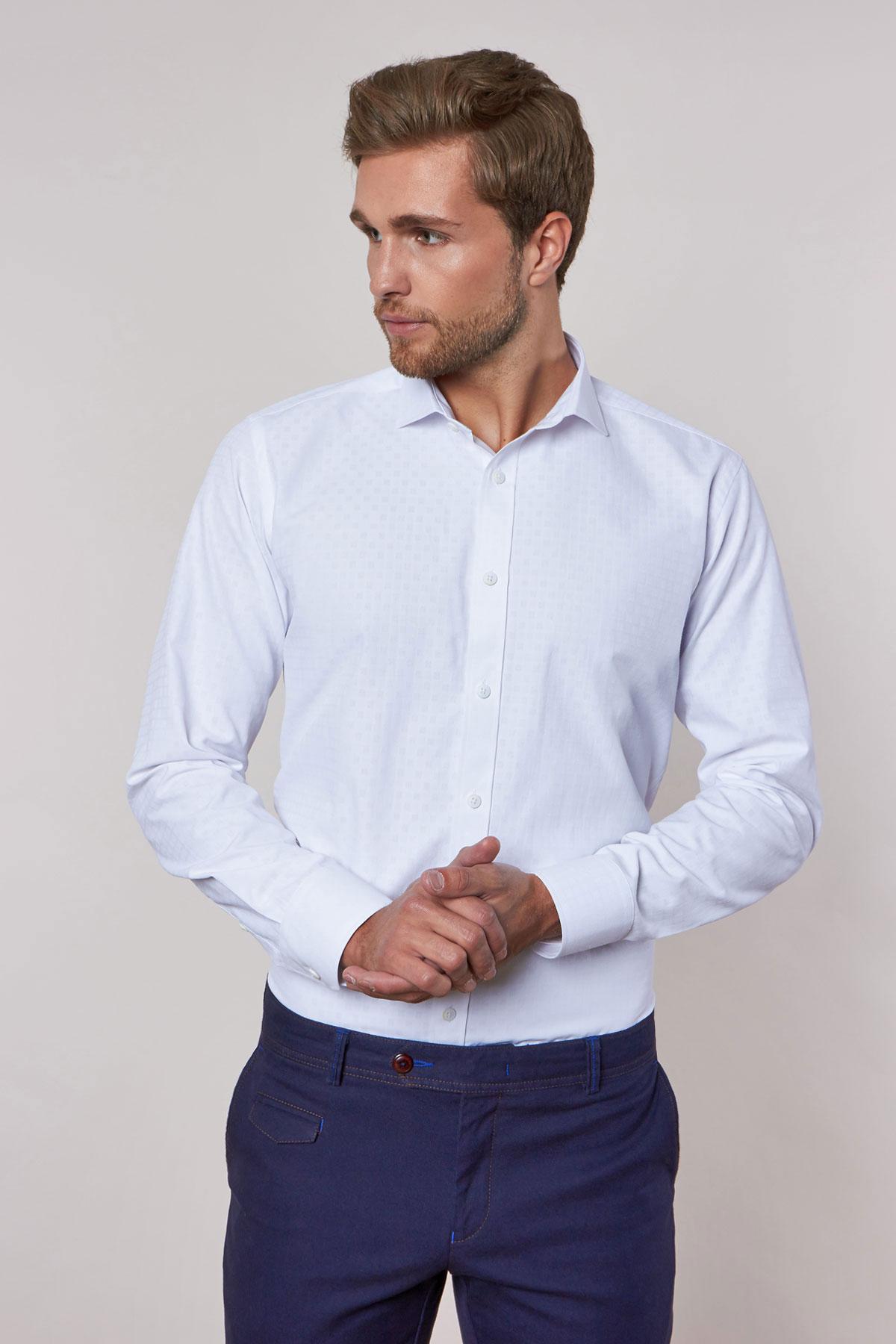 Рубашка белого цвета 18234