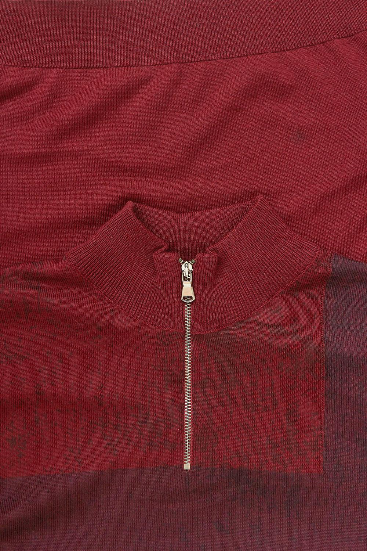 Свитер бордового цвета VM-18-1836