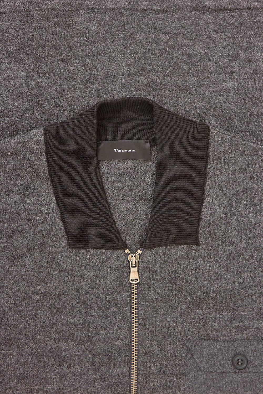 Свитер серого цвета VM-18-1852