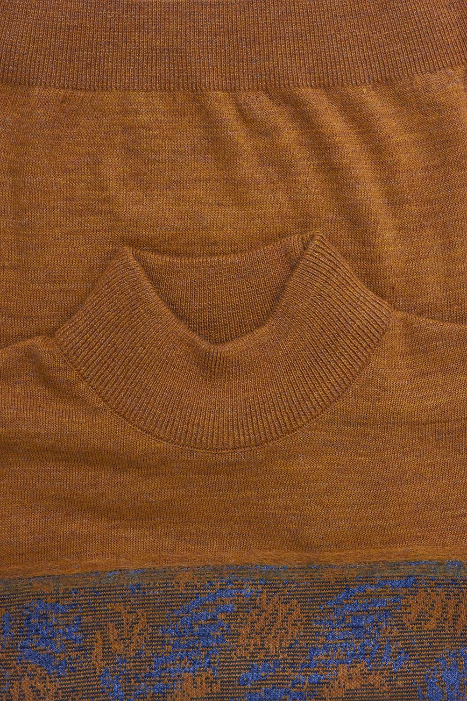 Свитер горчичного цвета VM-18-1935