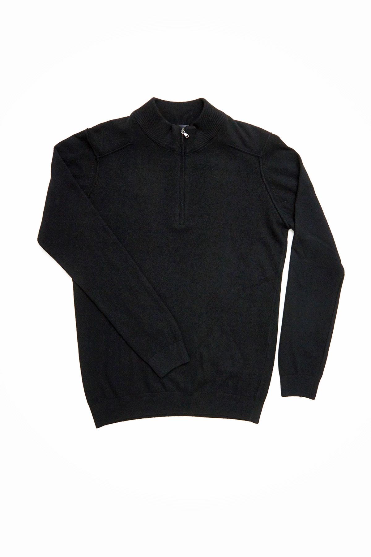 Свитер черного цвета Vaismann VM-18-1830-0