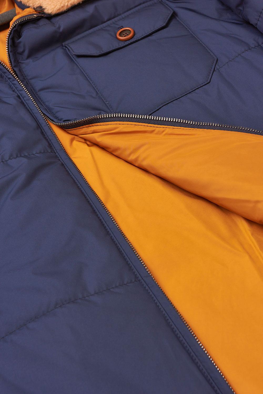 Куртка синего цвета 18-1348