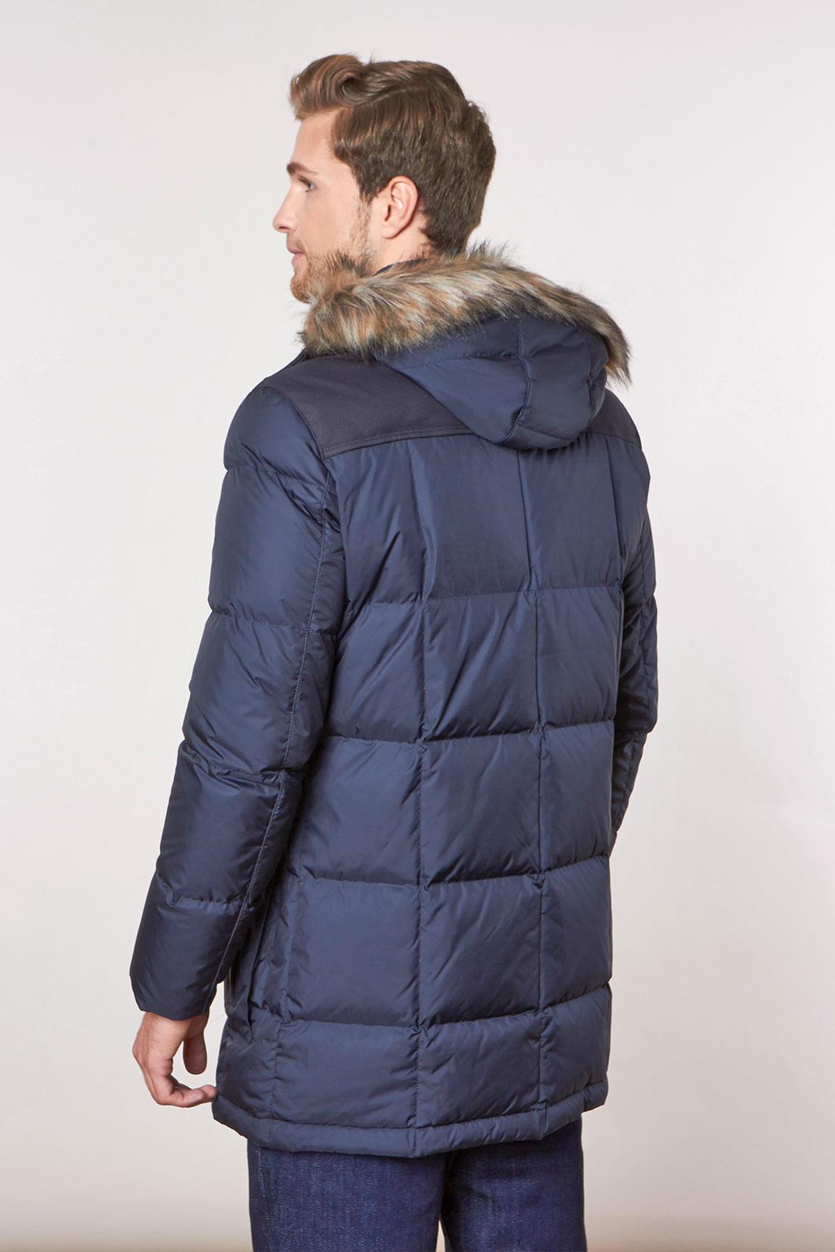 Куртка синего цвета 18-17110