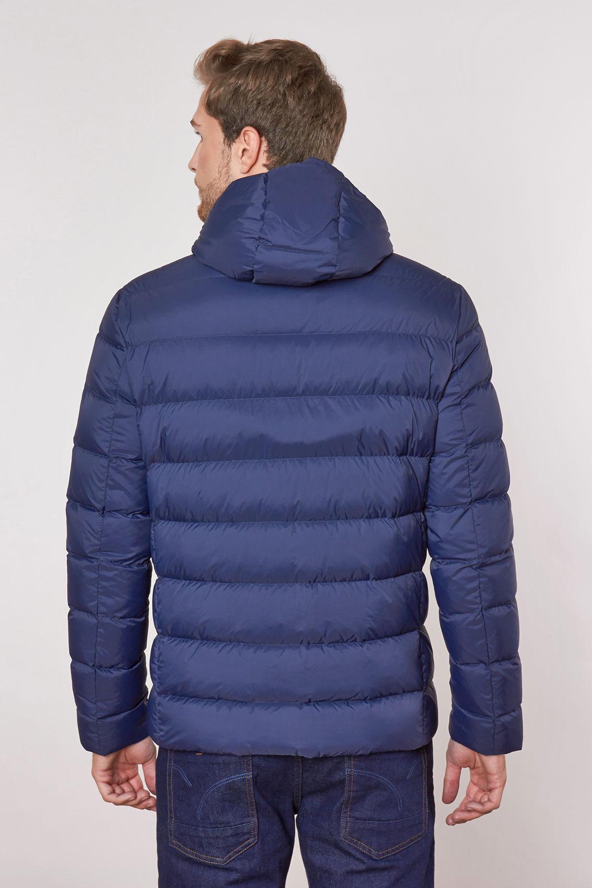 Куртка синего цвета 18-MNT-19