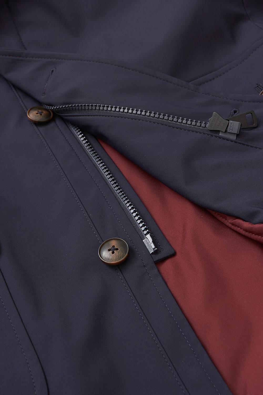 Куртка темно-синего цвета 1819