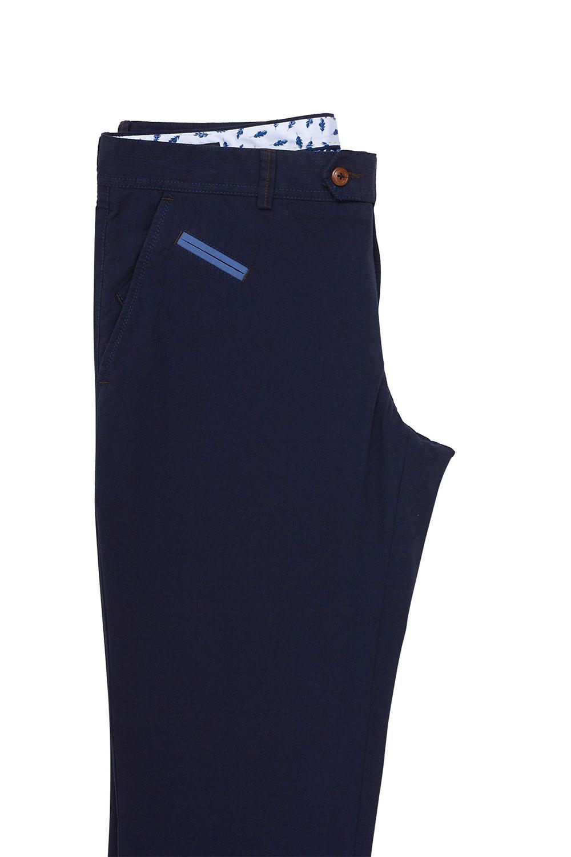 Брюки «chinos» пепельно-синего цвета 18504